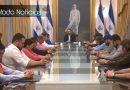 Presidente ora por su país en cadena nacional en el Salvador